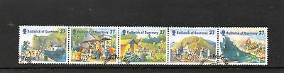 Sg 955-9  Guernsey Holidays On Sark Very  Fine Used Set
