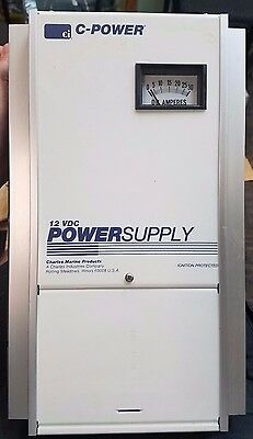C-Power Marine Electronic Power Supply 12Vdc 30 Amp 93-Ps1230-A