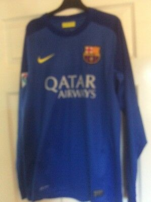 Mens Football T-shirts F.C.BARCELONA size Small