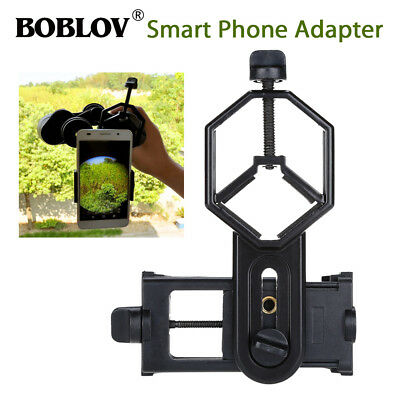 Black Binocular Monocular Spotting Scope phone Mount holder For iphone 7/7plus