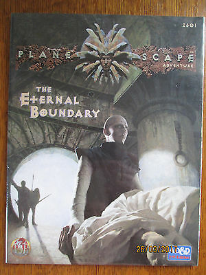 Mint Condition Unopened Tsr Ad&d Planescape Adventure The Eternal Boundary, Oop