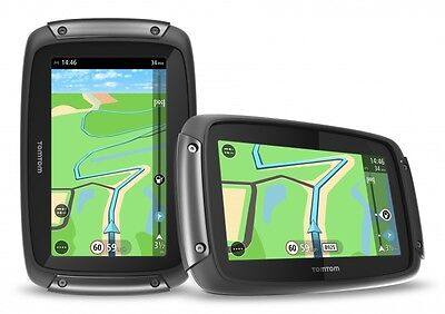Tomtom /tom Tom Rider 42 West Europa Motorrad Bike Navigation Lifetime Maps 4,3""