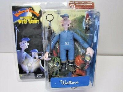 Wallace & Gromit The Curse Of The Were-Rabbit Action Figure In Box Sealed 2005
