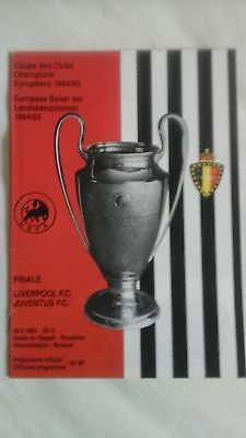 Liverpool  v  Juventus   European Cup Final  1985