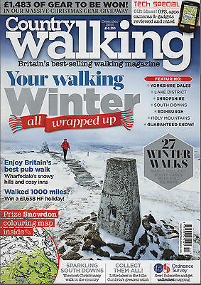 Country Walking magazaine - December 2016
