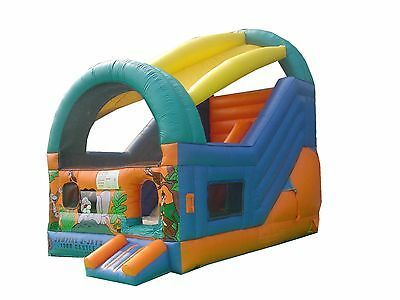 MASSIVE JUMPING CASTLE SALE 4mx5.5m x5m tall Jungle Slide **Commercial** USED