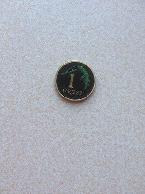 Hand Painted Coin Small Foreign