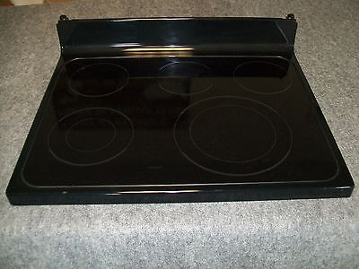 Wb62T10636 Ge Range Oven Main Top Glass Cooktop Black