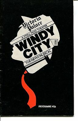 Windy City The Musical - Theatre Programme