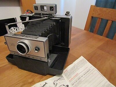 Rare Vintage 1969 Polaroid Automatic Land Camera 355 GREAT CONDITION