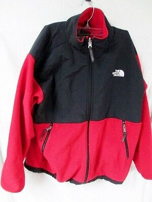 Youth Junior THE NORTH FACE POLARTEC FLEECE JACKET Coat RED XL Boys Girls Junior