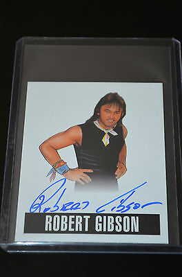 2014 Leaf Originals Wrestling Autograph Robert Gibson