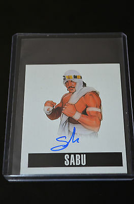 2014 Leaf Originals Wrestling Alternate Art Autograph Sabu
