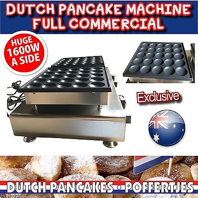 Commercial Electric Poffertje Mini Dutch Pancake Machine Maker Waffle 50pcs NEW