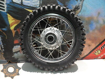 2007 Honda Crf 70 Rear Wheel And Tire Rk Excel 3.00 - 12  07 Crf70