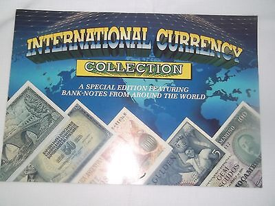 International Currency Collection. Book and notes complete