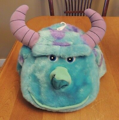 DISNEY PARKS SULLEY MONSTERS INC PLUSH HAT ADULT/YOUTH SOUVENIR NEW Costume NWT