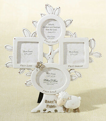 LILLIAN ROSE Little Lamb First Year Picture Frame