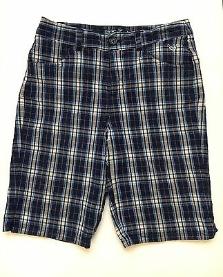 Justice Girls Plaid Shorts Size 14