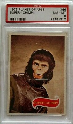 1975 Topps Planet of the Apes #66**Graded PSA NM-MT 8**last card in set**