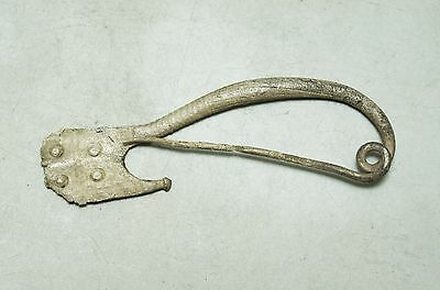 Ancient Illyrian Silver Brooch