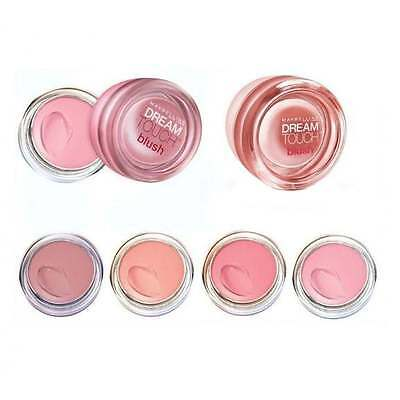 Maybelline Dream Touch Blush, Cream Blusher 02 Peach, 04 Pink or 07 Plum
