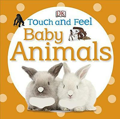 Baby Animals (DK Touch and Feel) by DK | Hardcover Book | 9781405370479 | NEW