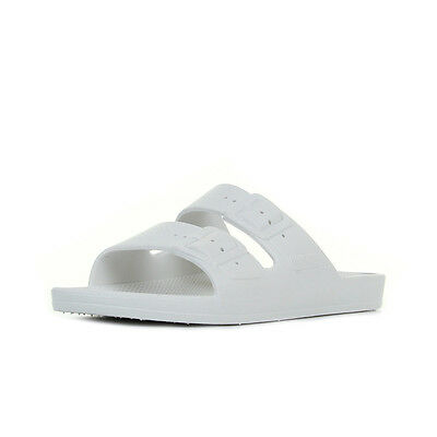 Sandales Nu Pieds Moses unisexe Freedom Slippers White taille Blanc Blanche