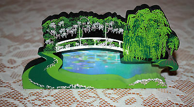 """Shelia's Collectible """"My Favorite Places Reflecting Pond""""  Made 1997 #1281/5000"""