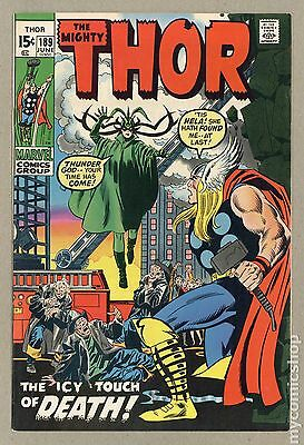 Thor (1962-1996 1st Series Journey Into Mystery) #189 FN 6.0