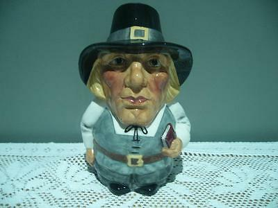Vintage Manor England 'puritan' Character / Toby Jug - Very Good Condition