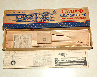 Cleveland Luscombe Silvaire Sedan Model Airplane Kit