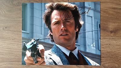 Clint Eastwood Original Hand Signed Autograph 8 x 10 Photo with COA