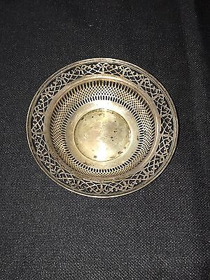 "Sterling Silver 6"" Bowl"