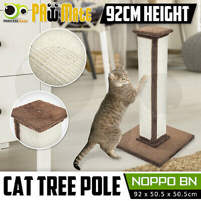 Cat Tree Scratching Post Scratcher Pole Gym House Furniture Multi Level 92cm BN