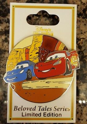 Disney Soda Fountain DSF Beloved Tales LE 300 Pin Cars Sally Lightning McQueen