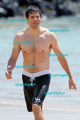 JAMES MARSDEN #7,BARECHESTED,SHIRTLESS,candid photo,X-MEN