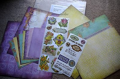 Creative Memories 12x12 Reminisce Spring Additions Kit Scrapbook/Card