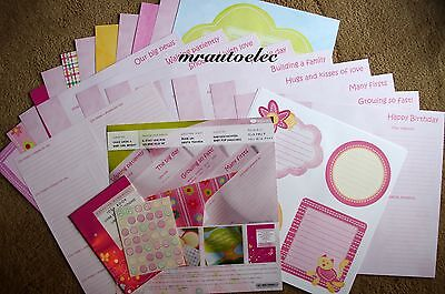 Creative Memories Once Upon a Baby Girl Bright Perfect Fit Album Kit
