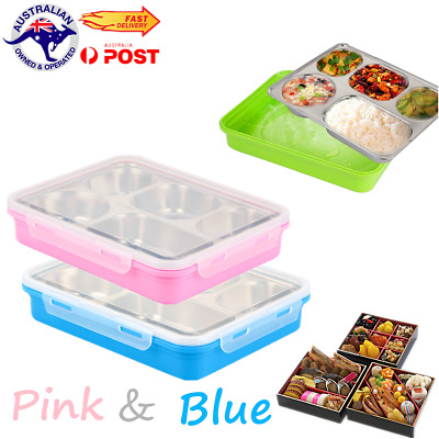 Leakproof Stainless Steel Bento Container Lunchbox Insulated Thermos Lunch Box