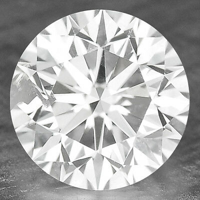 0.09 Cts FANCY SPARKLING  WHITE COLOR NATURAL LOOSE DIAMONDS SI1