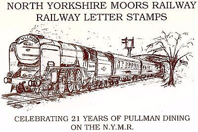 Railway Letter Stamps North Yorkshire Moors Railway Limited Edition Pack