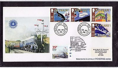 Railway Letter Stamps North Yorkshire Moors Railway 1996 Cover