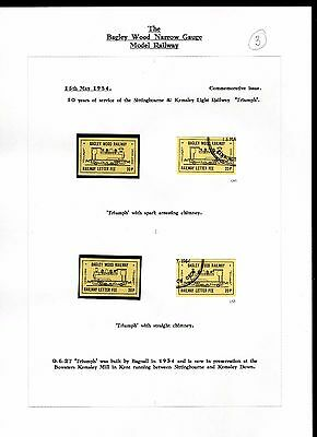 Railway Letter Stamps Bagley Wood Collection Page 3