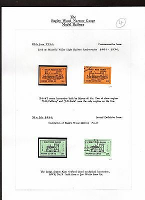Railway Letter Stamps Bagley Wood Collection Page 4