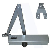 Briton 2004 SES Size 4 Overhead Door Closer Silver