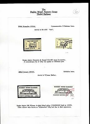 Railway Letter Stamps Bagley Wood Collection Page 6