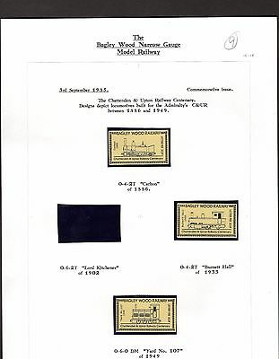 Railway Letter Stamps Bagley Wood Collection Page 9