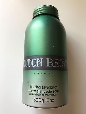 New Molton Brown Thermal Muscle Soak 300g Bracing Silverbirch