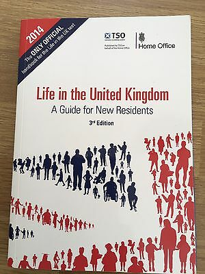 Life In The UK United Kingdom Paperback Book 3rd Edition * Immaculate*